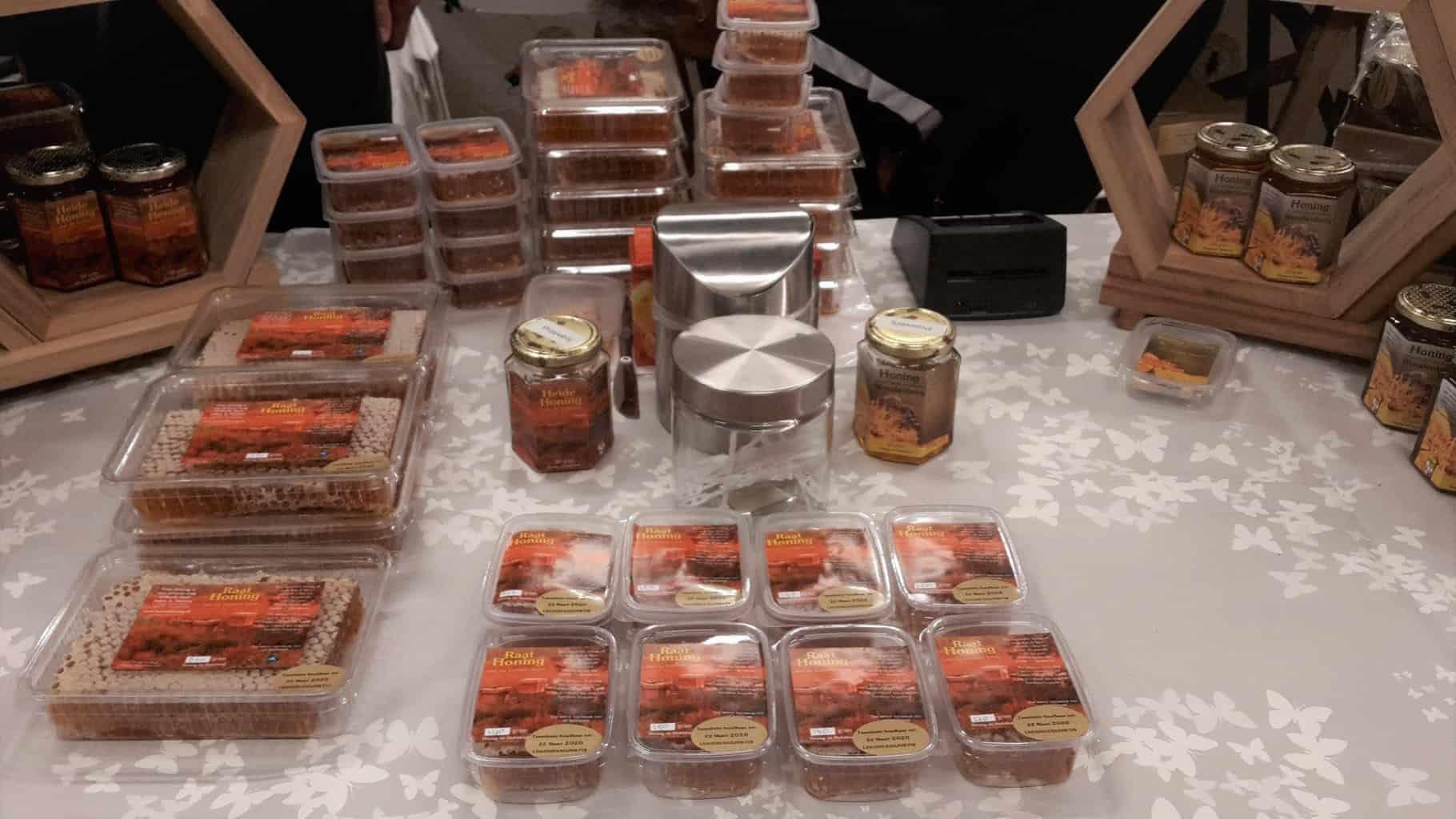 Heidehoning en Raathoning van Henzen Honing